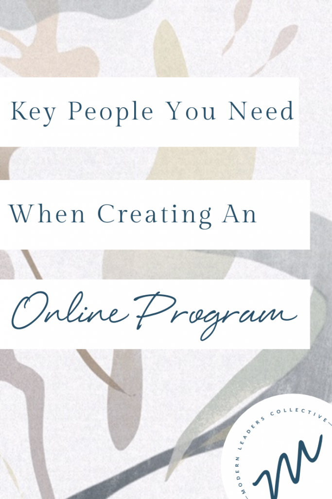 Key People You Need When Creating An Online Post