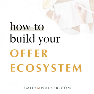 How to build your offer ecosystem